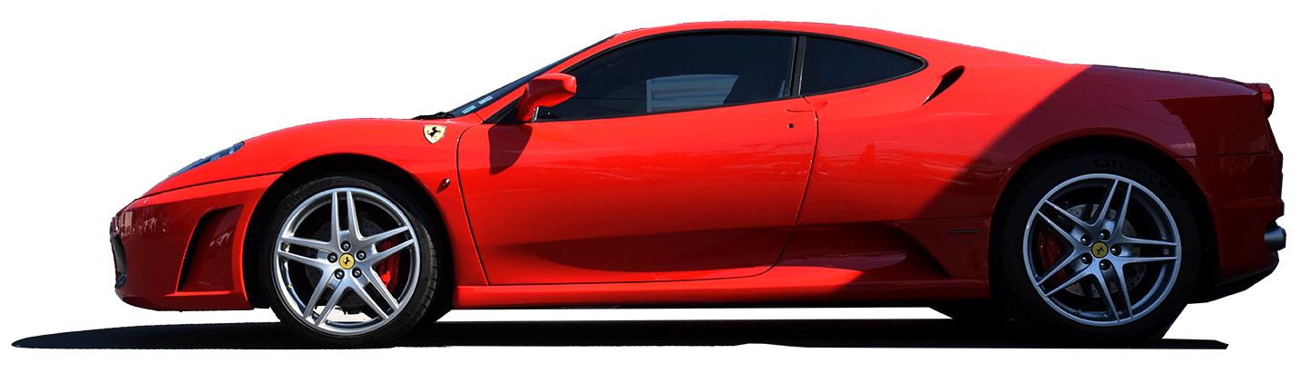 ferrari voiture rouge